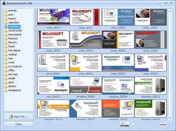 Mojosoft businesscard mx 600447 reheart Choice Image
