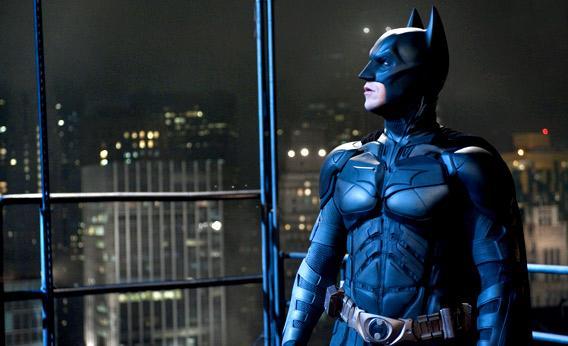 Christian Bale as Batman in The Dark Knight Rises.
