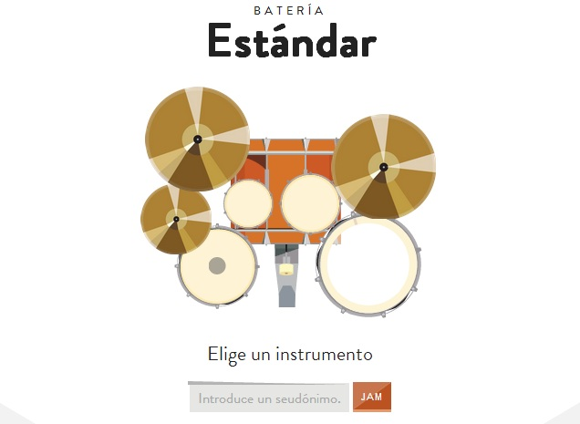 JAM Google con Chrome estudio musical de todo tipo en tu Browser