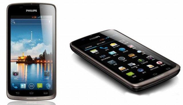 Philips en Smartphone : Xenium W832 conDual-SIM