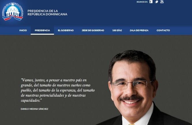 Nuevo Portal de la Presidencia