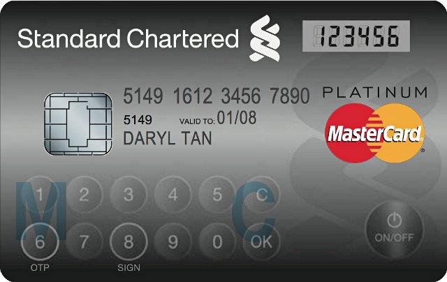 MasterCard introduce nueva tarjeta de pago con botones integrados y pantalla sensible altacto
