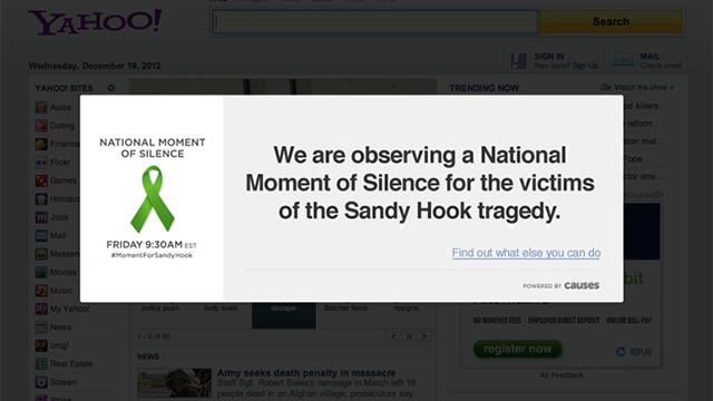 """Sitios web harán """"un minuto de silencio"""" por víctimas deConnecticut"""