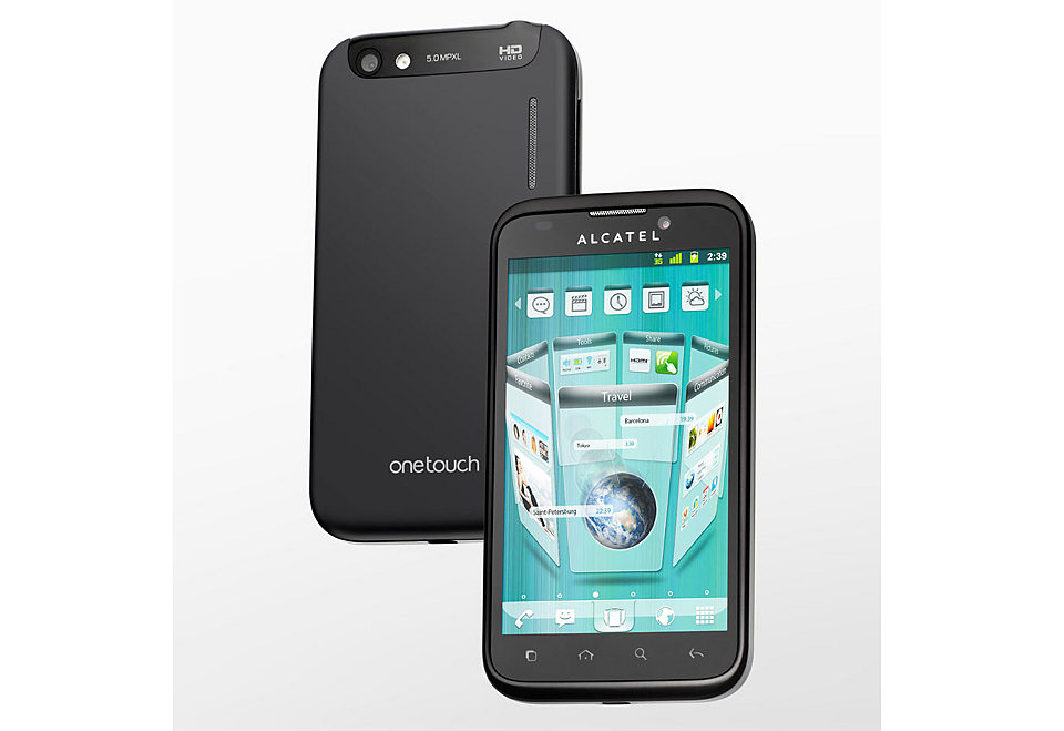 alcatel one touch 995 live