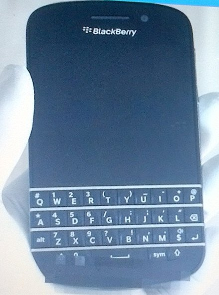 La nueva version  Blackberry para el 2013