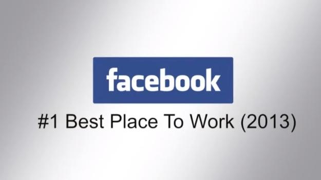 Facebook: Considerado uno de los mejores Lugares paraTrabajar