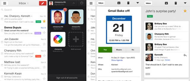 GMail 2.0 para iOSDisponible