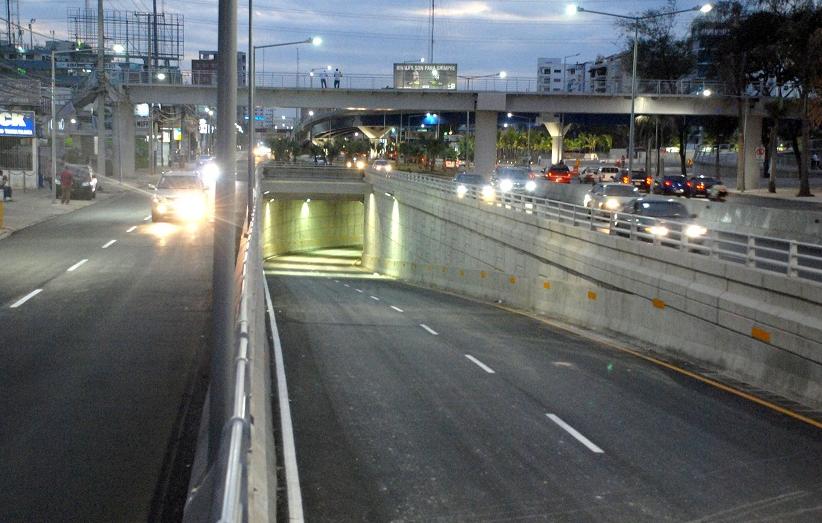 Cerrarán dos túneles mañana y sábado en RepúblicaDominican
