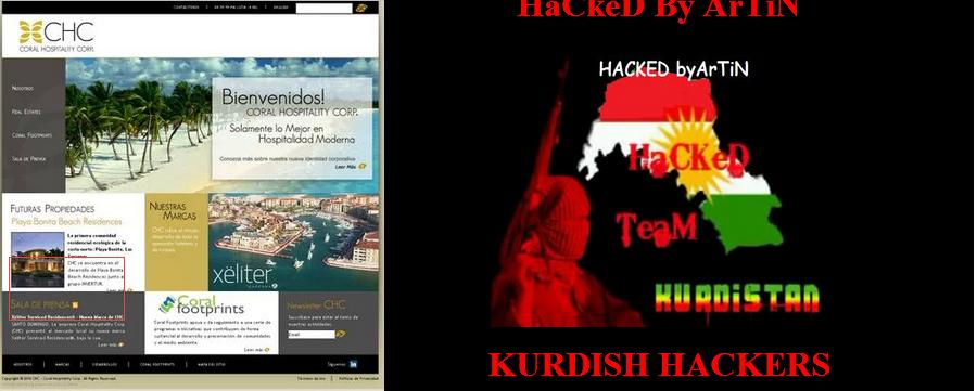 Pagina (http://chc.do/) fue Hackeada atención al administrador de este Website.