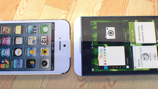 La BlackBerry Z10 sera mejor que el iPhone 5 SegúnAnalistas